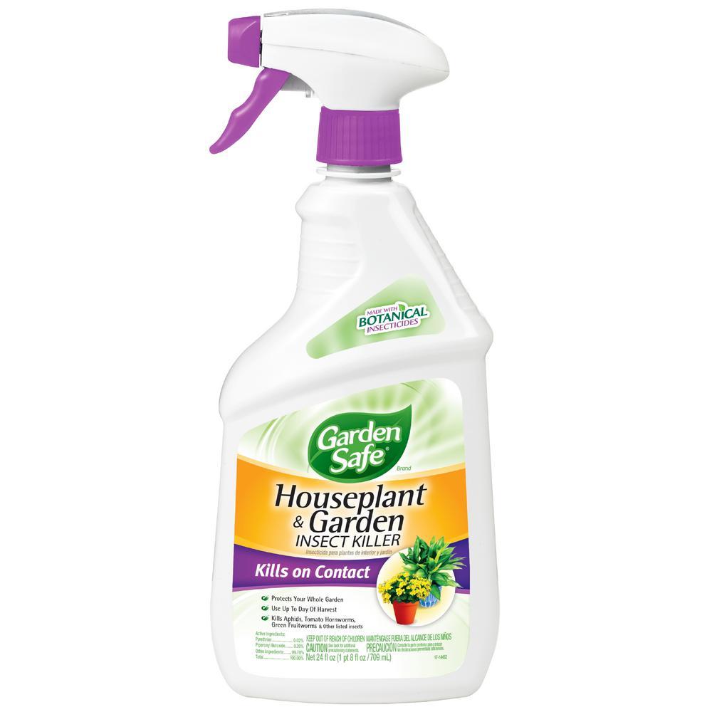 Garden Safe 24 fl. oz. Ready-to-Use Houseplant and Garden Insect Killer