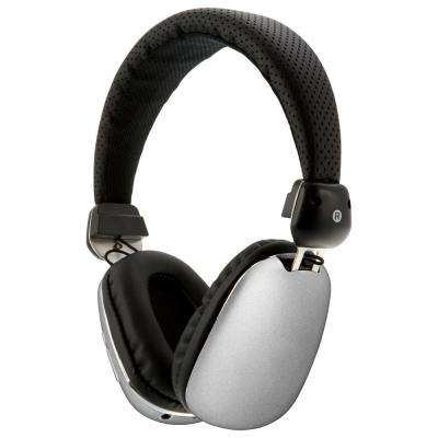 Platinum Bluetooth Wireless Headphone with In-Line Audio, Silver
