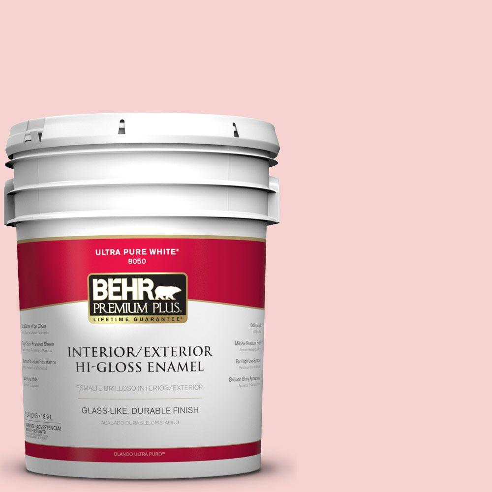 5-gal. #P170-1 Youth Blush Hi-Gloss Enamel Interior/Exterior Paint