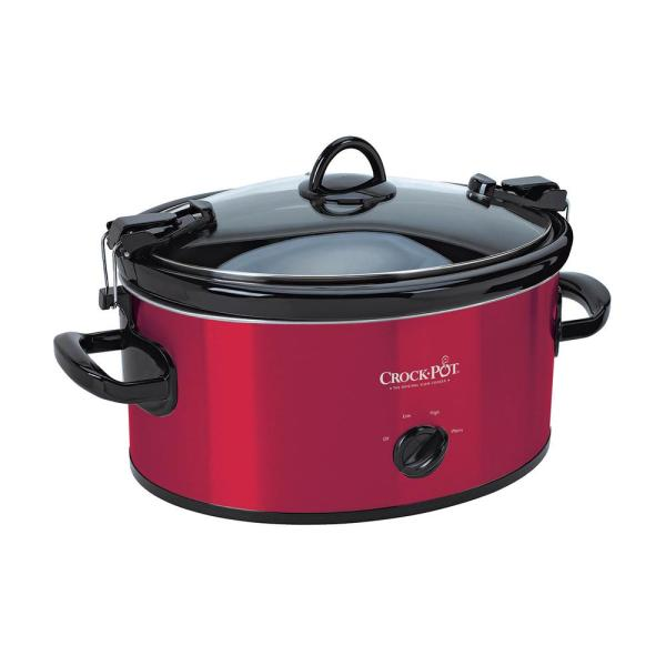 Crock-Pot 6 Qt. Slow Cooker SCCPVL600-R