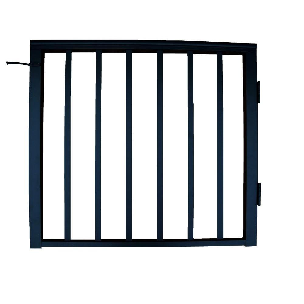 3 ft. x 3-1/2 ft. Aluminum Single Panel Gate