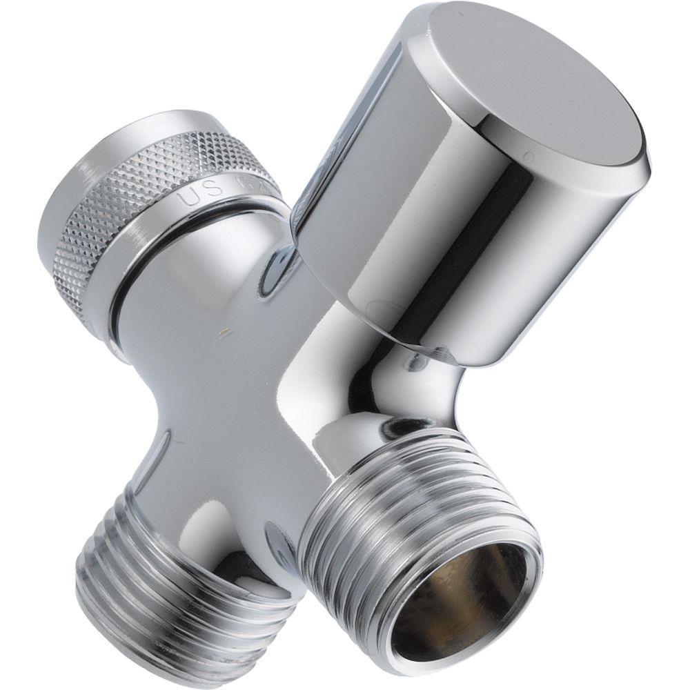 3-Way Shower Arm Diverter in Chrome
