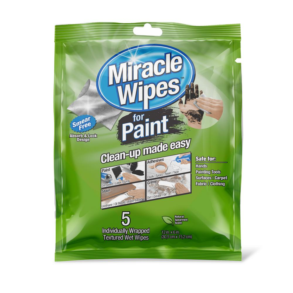 1.8 oz. Miracle Wipes (5-Pack)
