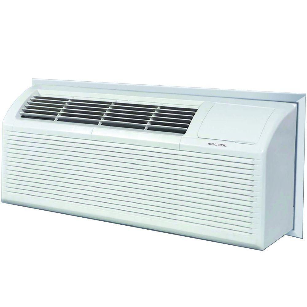 mrcool 9,000 btu packaged terminal heat pump (pthp) air conditioner