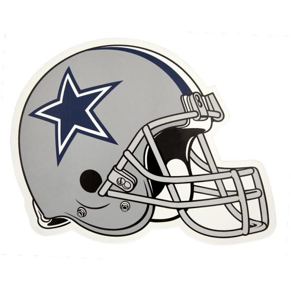 24fdf77b Applied Icon NFL Dallas Cowboys Outdoor Helmet Graphic- Large ...