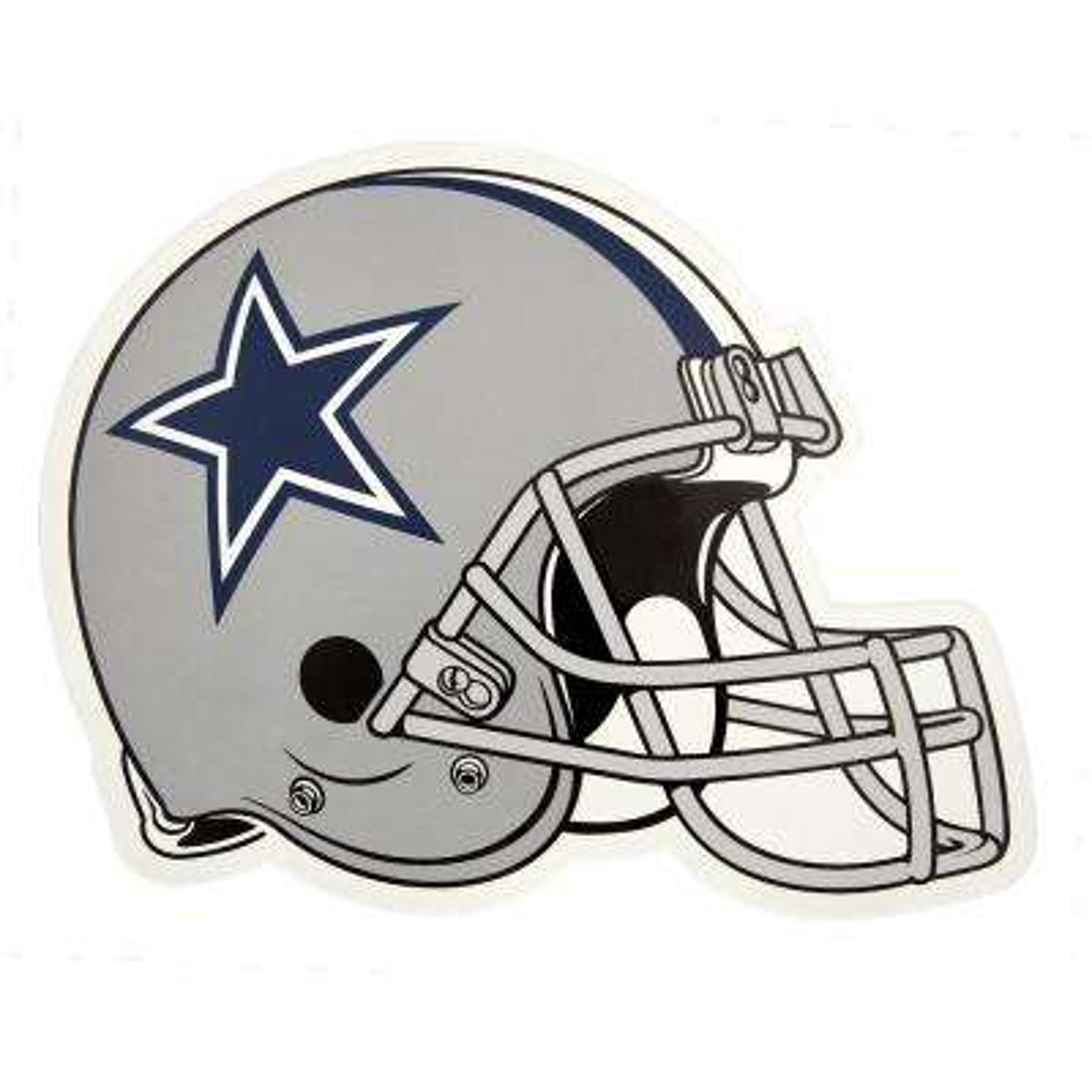 NFL Dallas Cowboys Outdoor Helmet Graphic- Large
