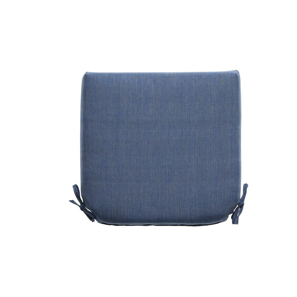 Hampton Bay 21 X 21 Outdoor Chair Cushion In Standard Sky 8399