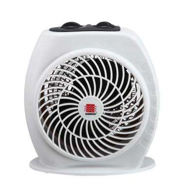 1,500-Watt Electric Fan Heater with Adjustable Thermostat