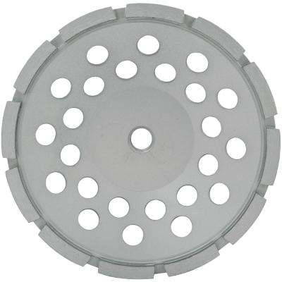7 in. Single Row Segmented Diamond Grinding Cup Wheel with 5/8 in. -11 Nut
