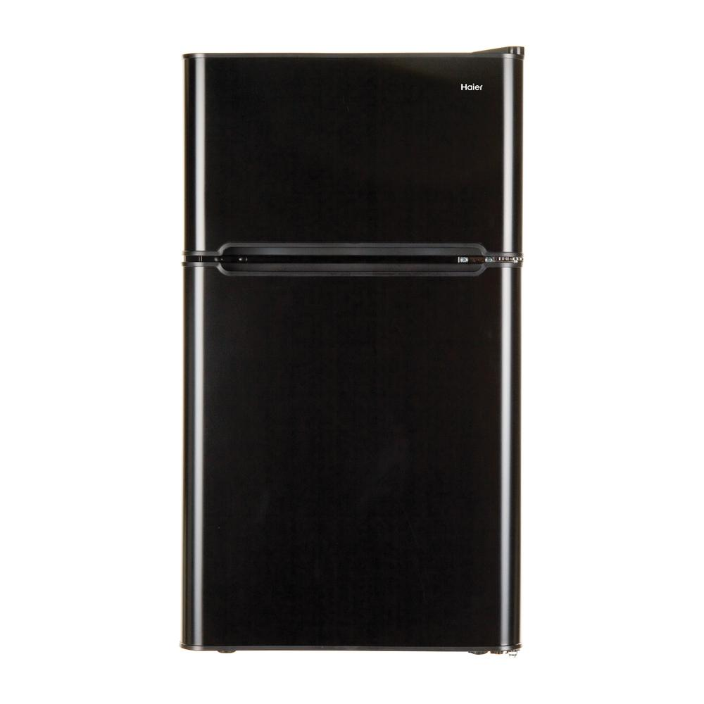 Haier 32 Cu Ft Mini Refrigerator In Virtual Steel Hc32tw10sv