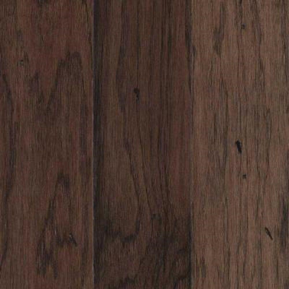 Take Home Sample - Landings View Chocolate Hickory Engineered Hardwood Flooring - 5 in. x 7 in.