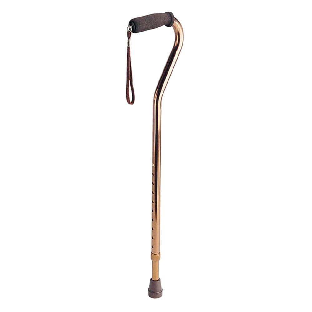 T-Handle Aluminum Cane in Bronze