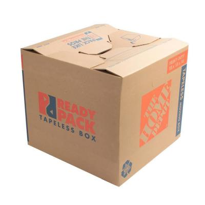 22 in. L x 16 in. W x 15 in. D Heavy-Duty Ready Pack Medium Moving Box with Handles (25-Pack)