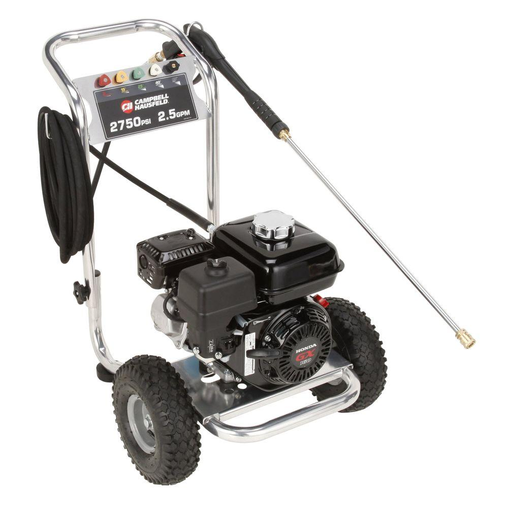 Campbell Hausfeld 2,750 psi 2.5 GPM CAT Pump Gas Pressure Washer