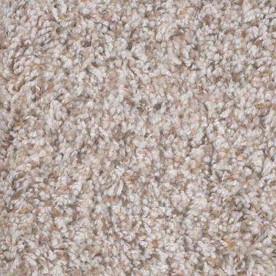 Carpet Sample - Archipelago I - Color Shoreline Twist 8 in. x 8 in.