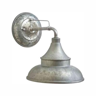 Galvanized Outdoor Barn Light Wall Mount Sconce