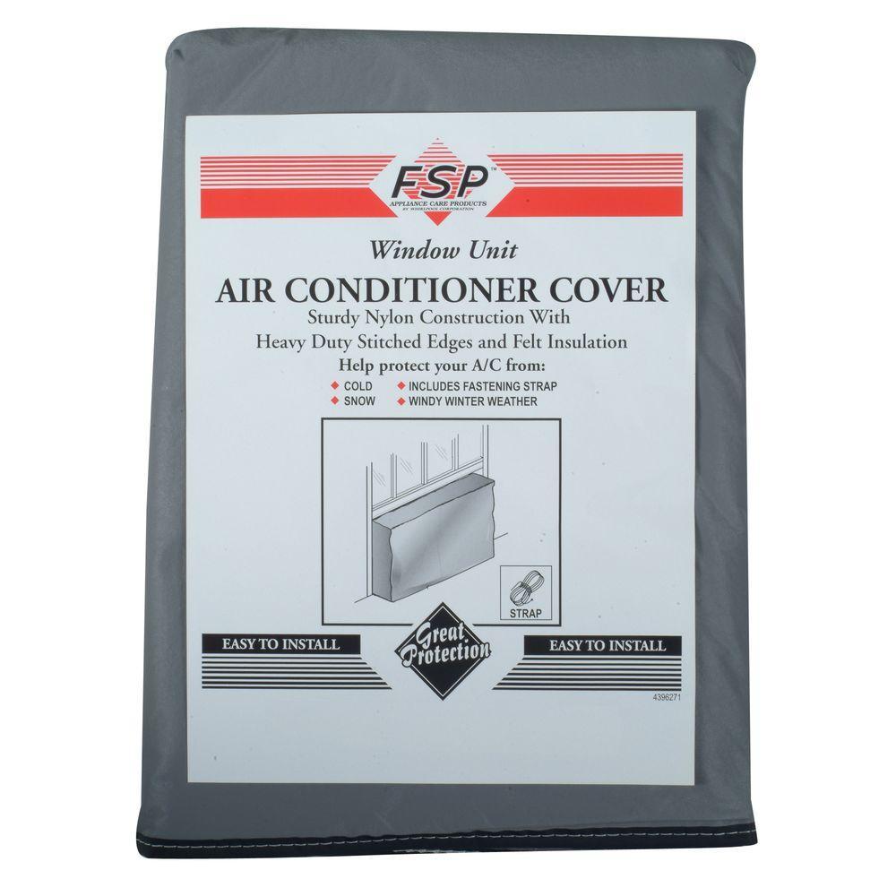 Whirlpool Air Conditioner Outdoor Cover-Medium, Grey
