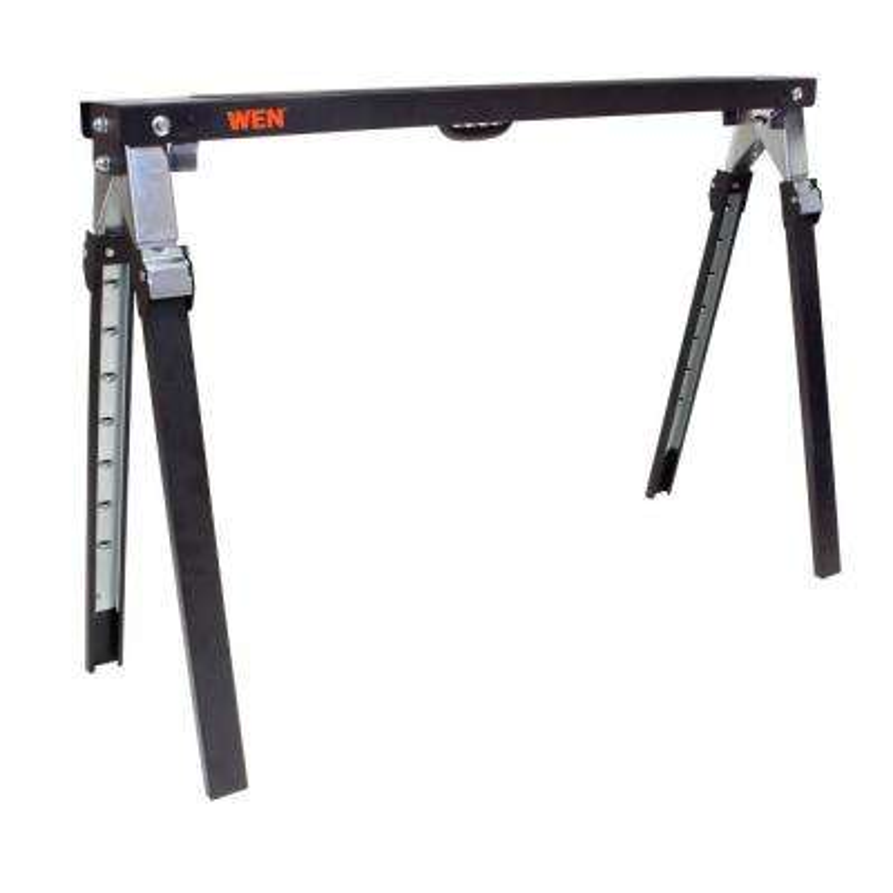 1000 lbs. Capacity Adjustable Folding Sawhorse