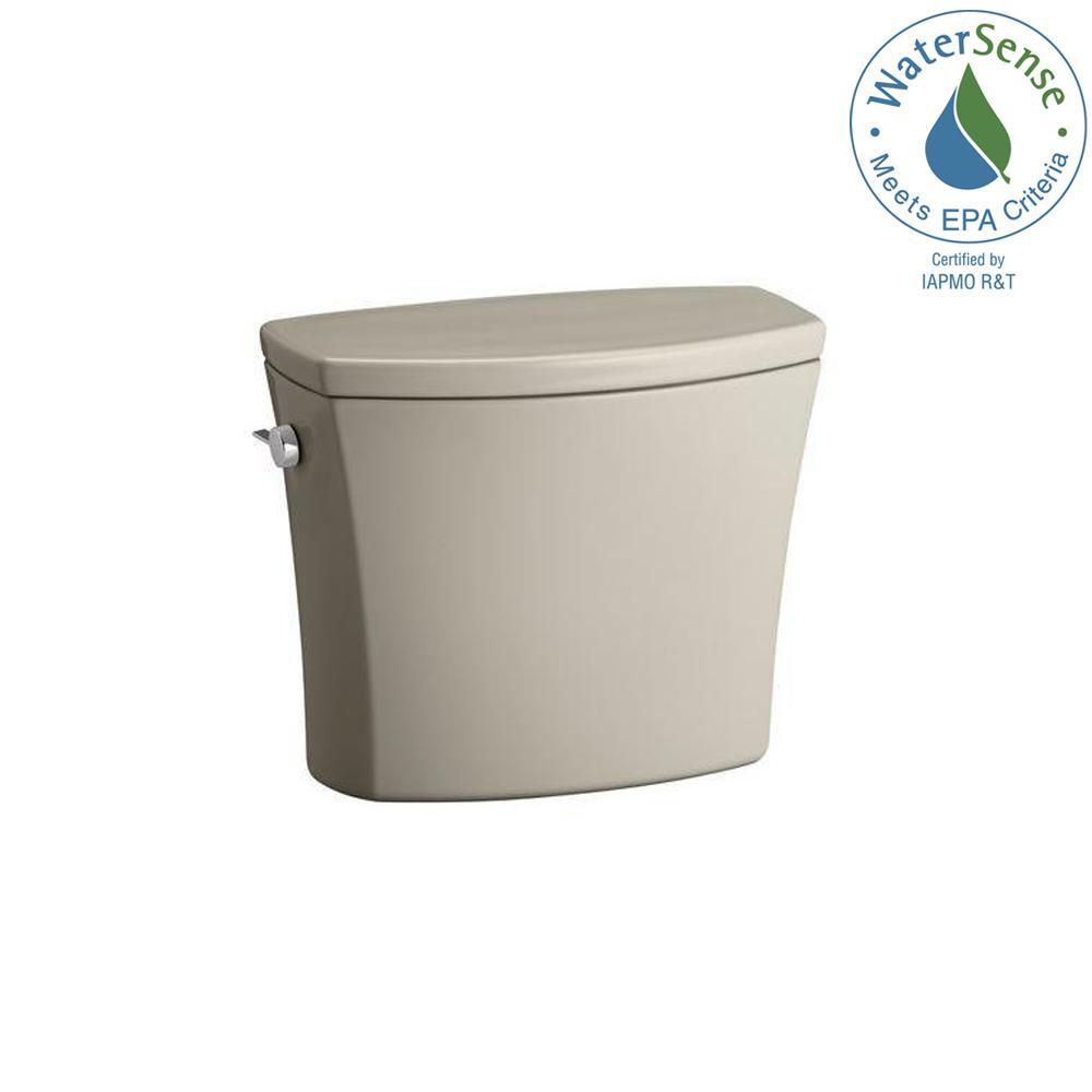 Kelston 1.28 GPF Single Flush Toilet Tank Only with AquaPiston Flushing