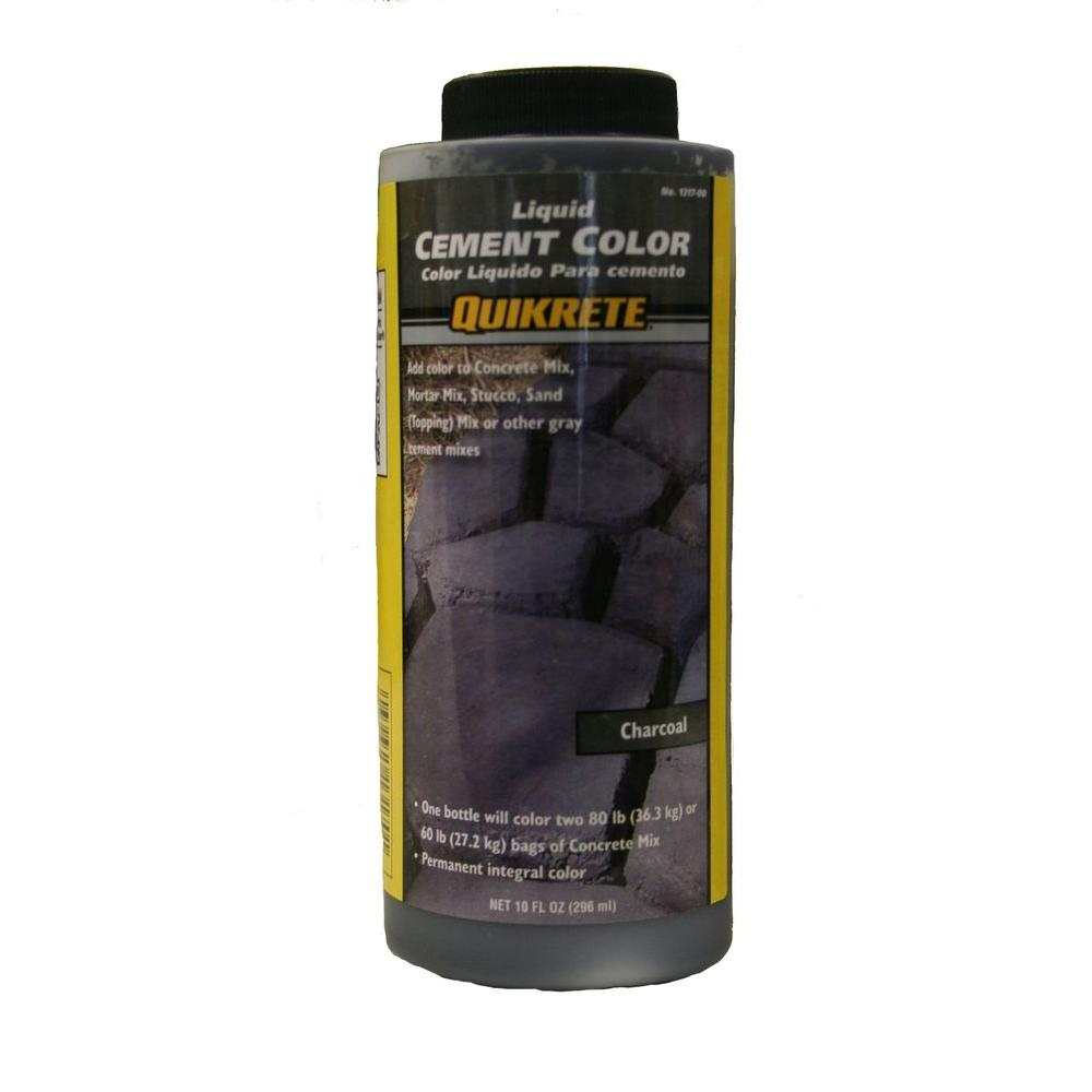 Quikrete 10 Oz Liquid Cement Color Charcoal