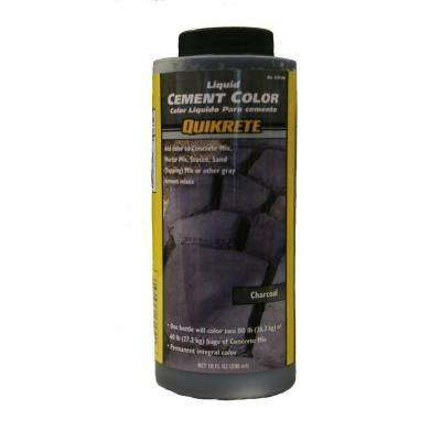10 oz  Liquid Cement Color - Charcoal