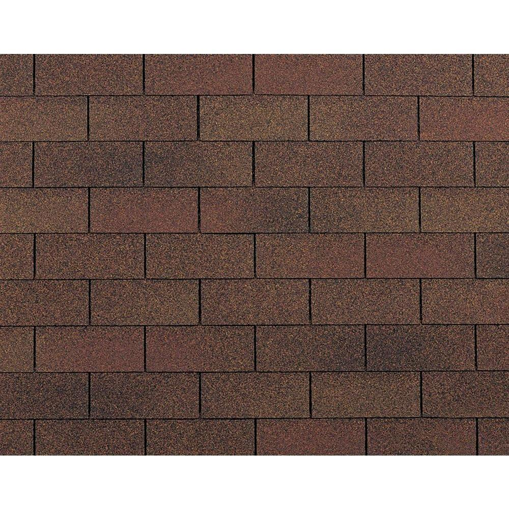 Owens Corning Supreme Autumn Brown 3 Tab Asphalt Roofing Shingles 333 Sq Ft