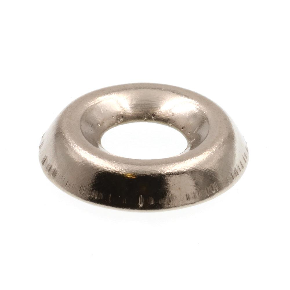 #14 Prime-Line 9083901 Finishing Washers 25-Pack Grade 18-8 Stainless Steel Countersunk