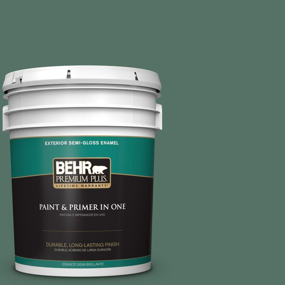 5-gal. #470F-6 Hilltop Semi-Gloss Enamel Exterior Paint