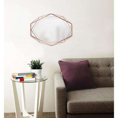 Copper Prisma Wall Mirror