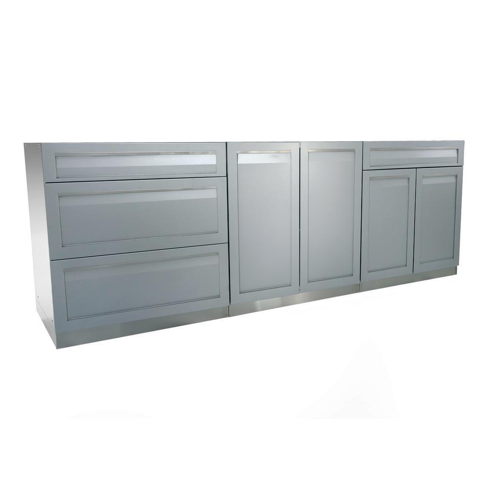 Outdoor Kitchen Storage - Outdoor Kitchens - The Home Depot