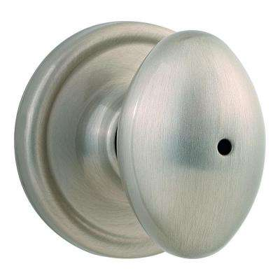 Laurel Satin Nickel Bed/Bath Knob