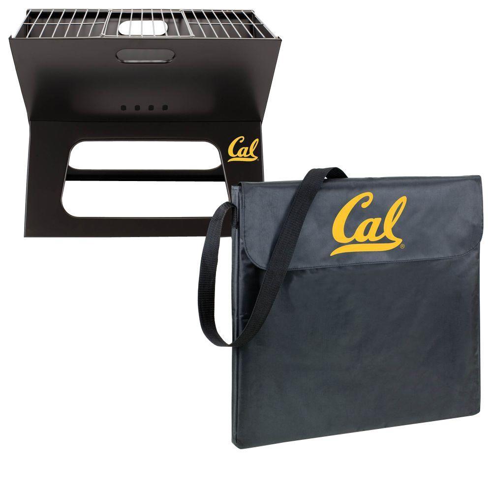 X-Grill Cal Berkley Folding Portable Charcoal Grill