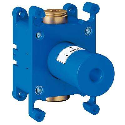 Grohtherm F Single Hole Wall Union Rough-In Valve Set