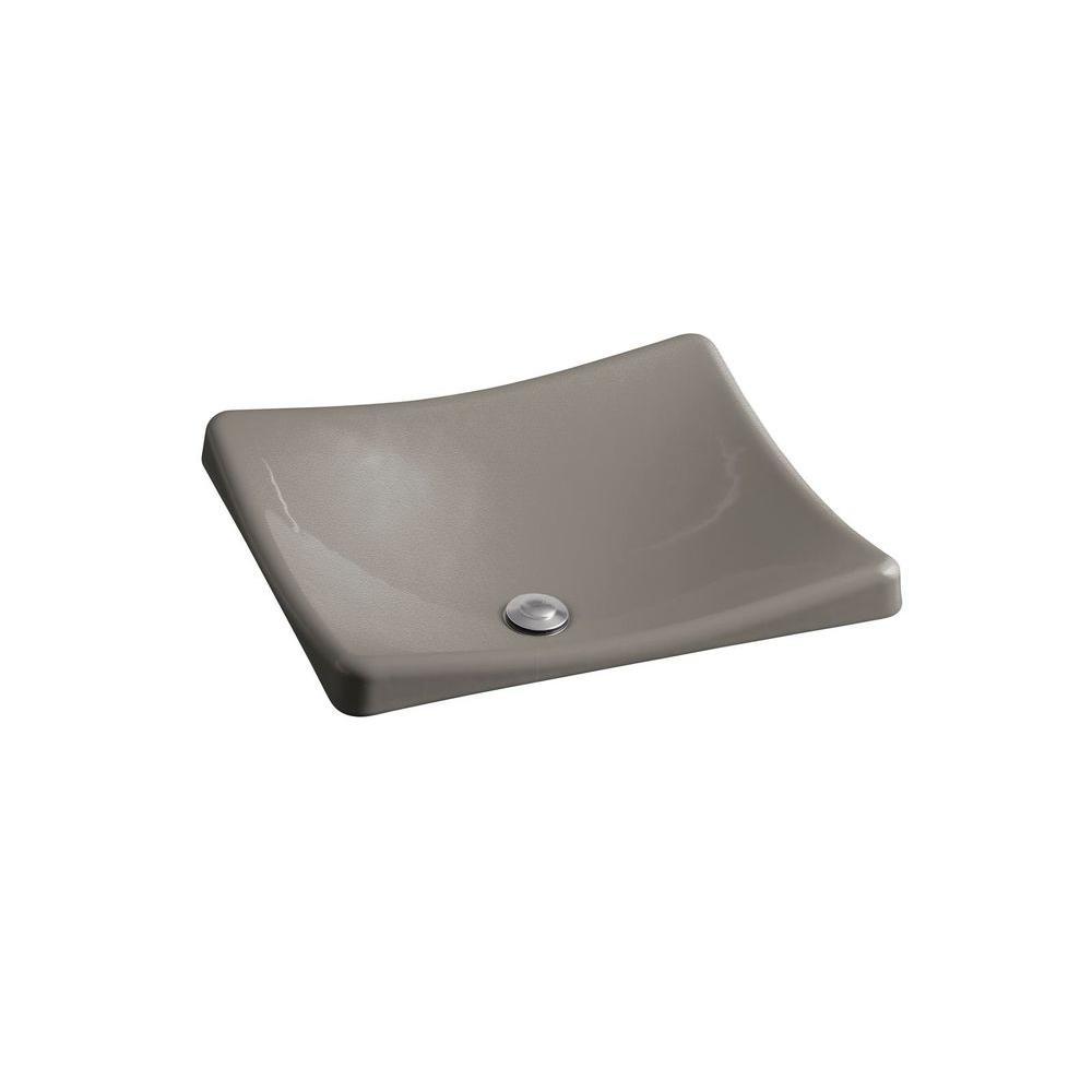 KOHLER DemiLav Wading Pool Cast Iron Vessel Sink in