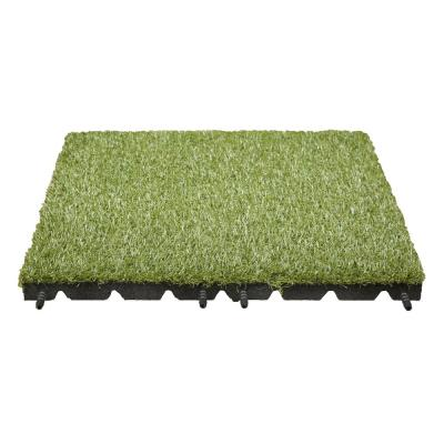 19 in. x 19 in. Artificial Grass Tile (8-Pack)