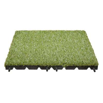 Artificial Grass Tile 19 in. x 19 in. (8-Pack)