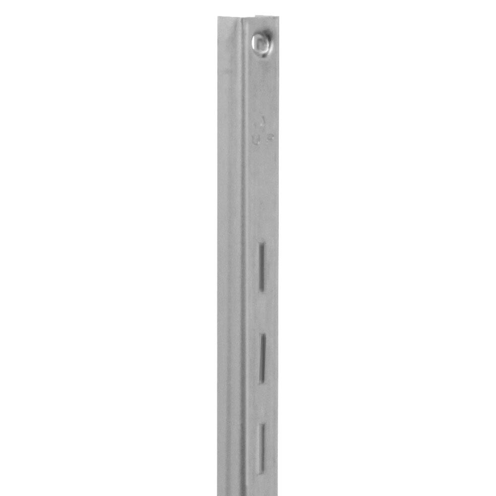 80 Series 24 in. L Anochrome Adjustable Shelving Standard