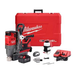 Milwaukee M18 FUEL 18-Volt Lithium-Ion Brushless Cordless 1-1/2 inch Magnetic Drill Kit w/(2) 5.0Ah Batteries,... by Milwaukee