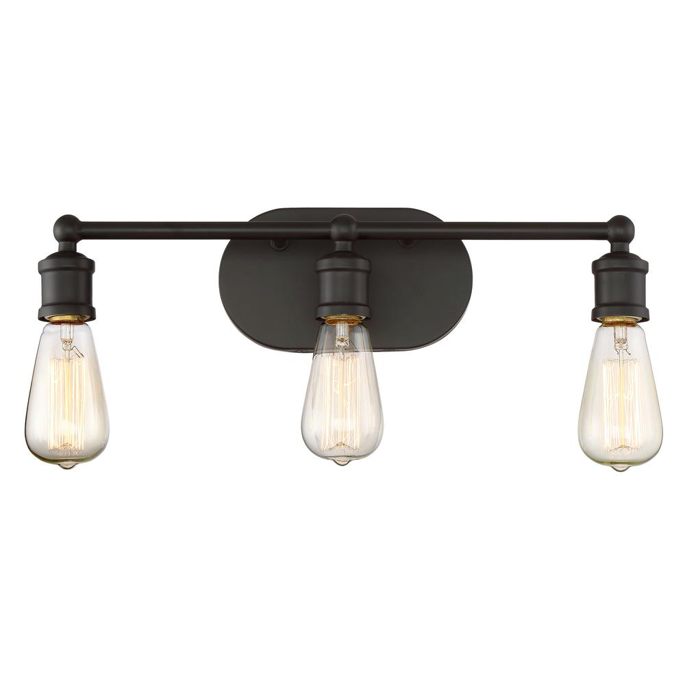 Filament Design 3 Light Oil Rubbed Bronze Bath