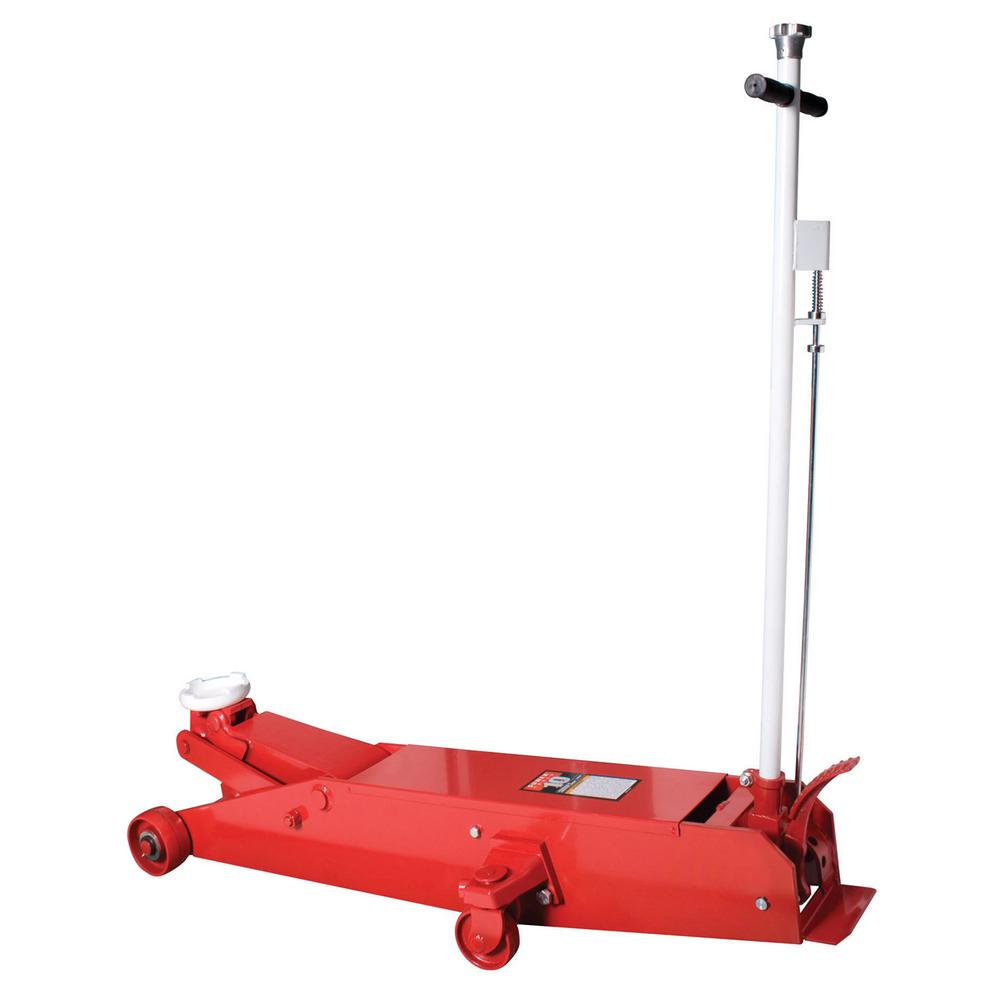 SUNEX 10-Ton Air/Hydraulic Professional Service Jack with Power Kit