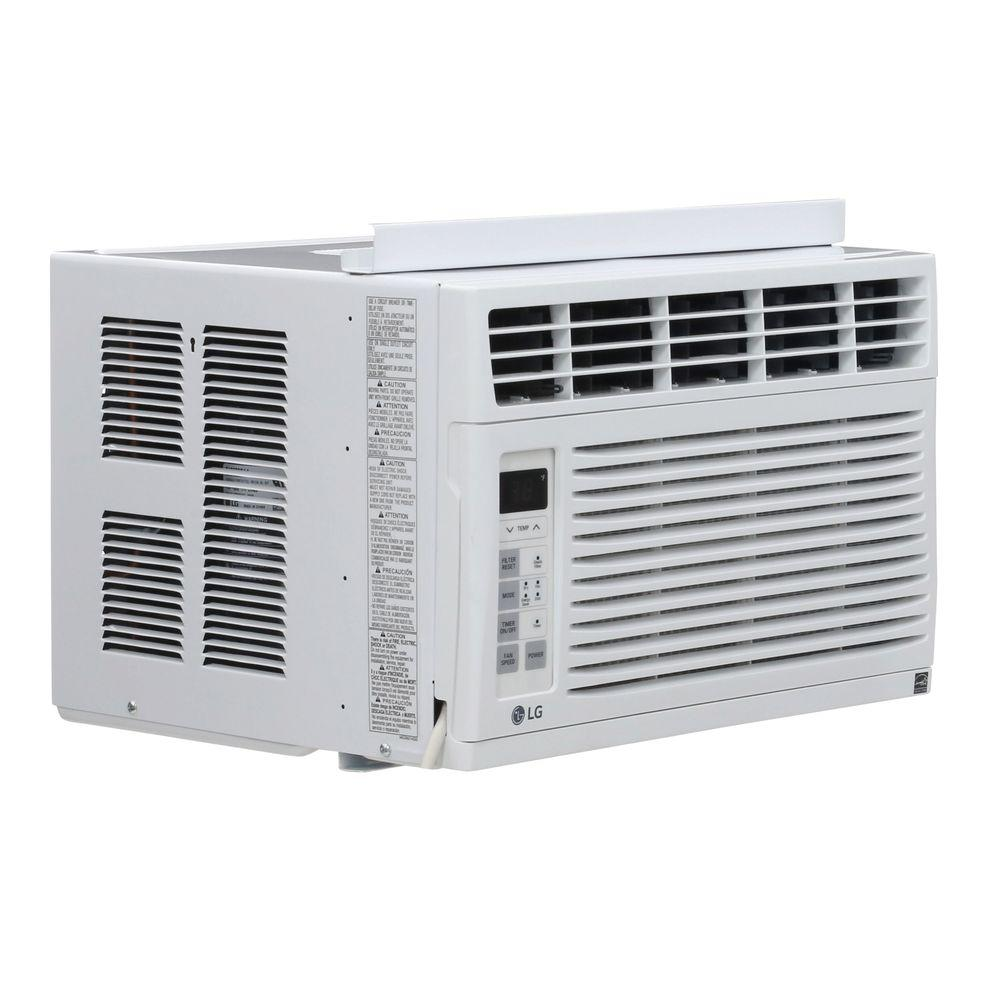 lg electronics window air conditioners lw6015er 64_1000 lg electronics 6,000 btu 115 volt window air conditioner with  at bakdesigns.co