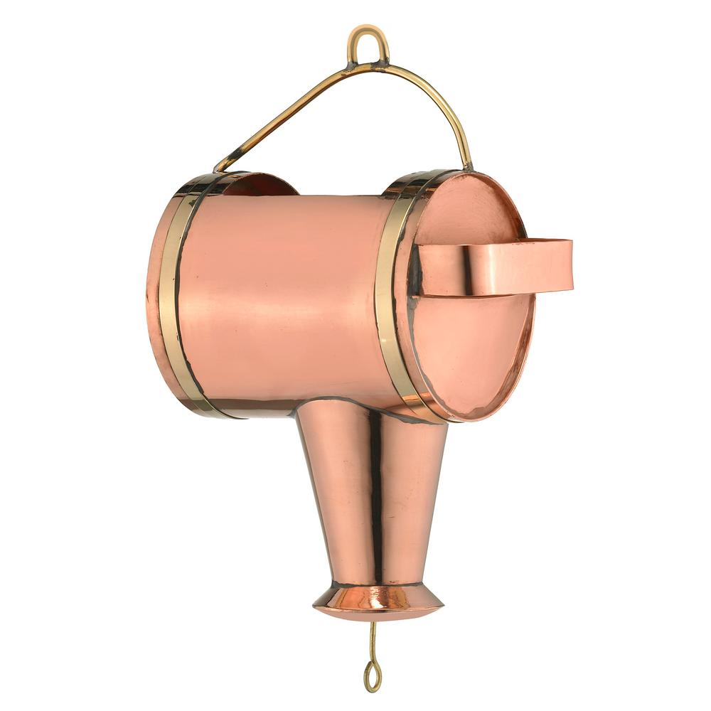 Good Directions Watering Can Pure Copper Rain Chain Leader