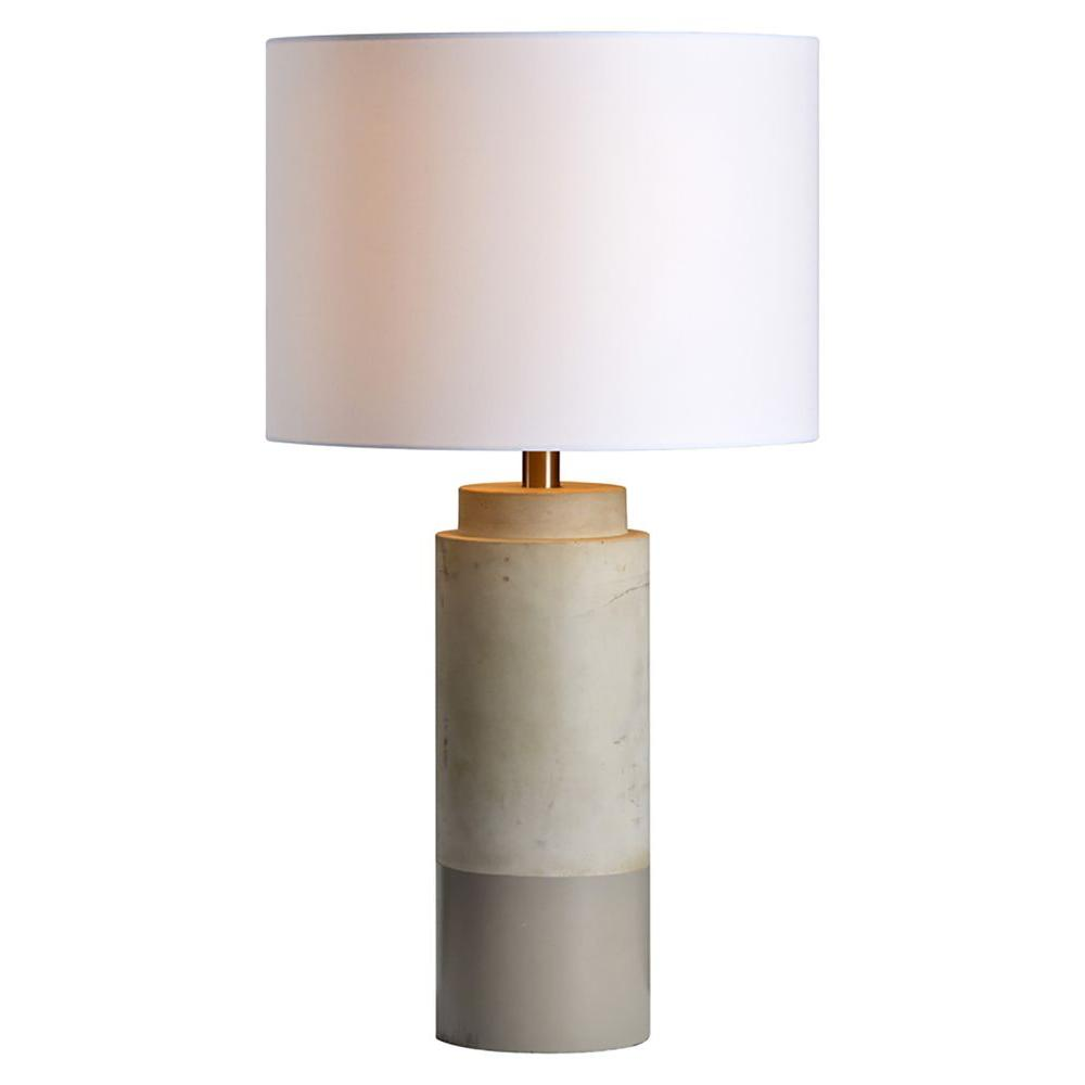 Renwil Lagertha 26 in. Sand Brown Table Lamp