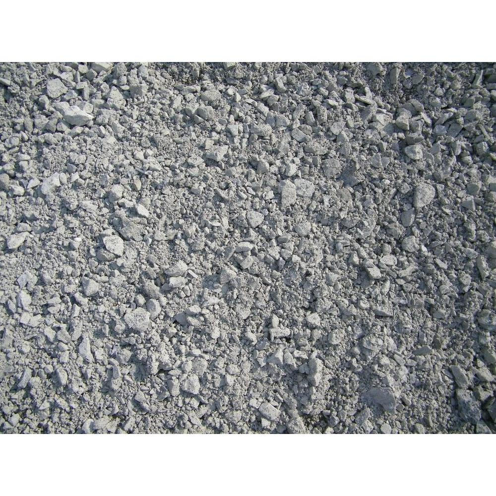 1,100 lb. 3/4 in. Gravel/Crushed Rock-479497 - The Home Depot