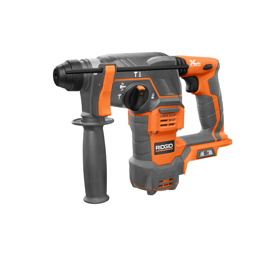 ridgid 18 volt cordless 7 8 in sds plus rotary hammer. Black Bedroom Furniture Sets. Home Design Ideas