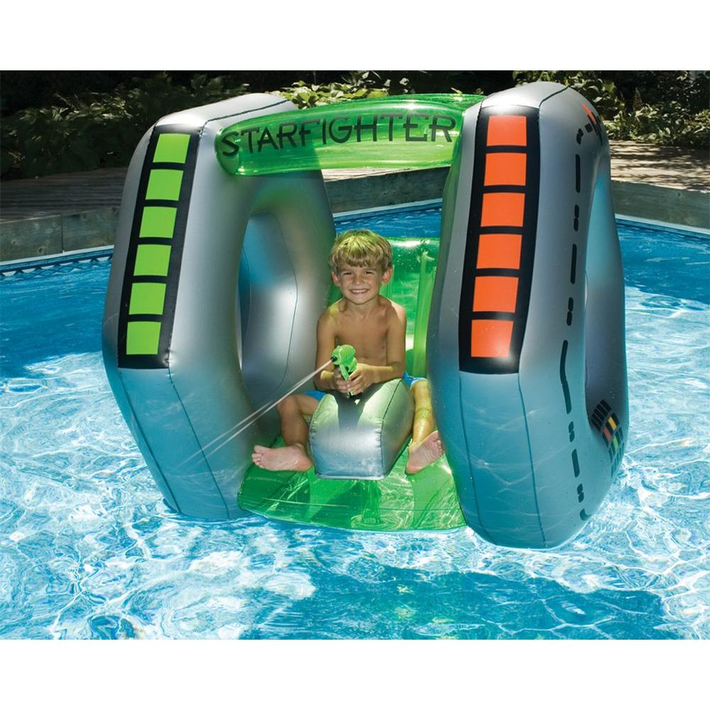 Swimline Starfighter Super Squirter Inflatable Pool Toy