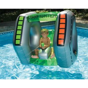 Swimline Starfighter Super Squirter Inflatable Pool Toy by Swimline