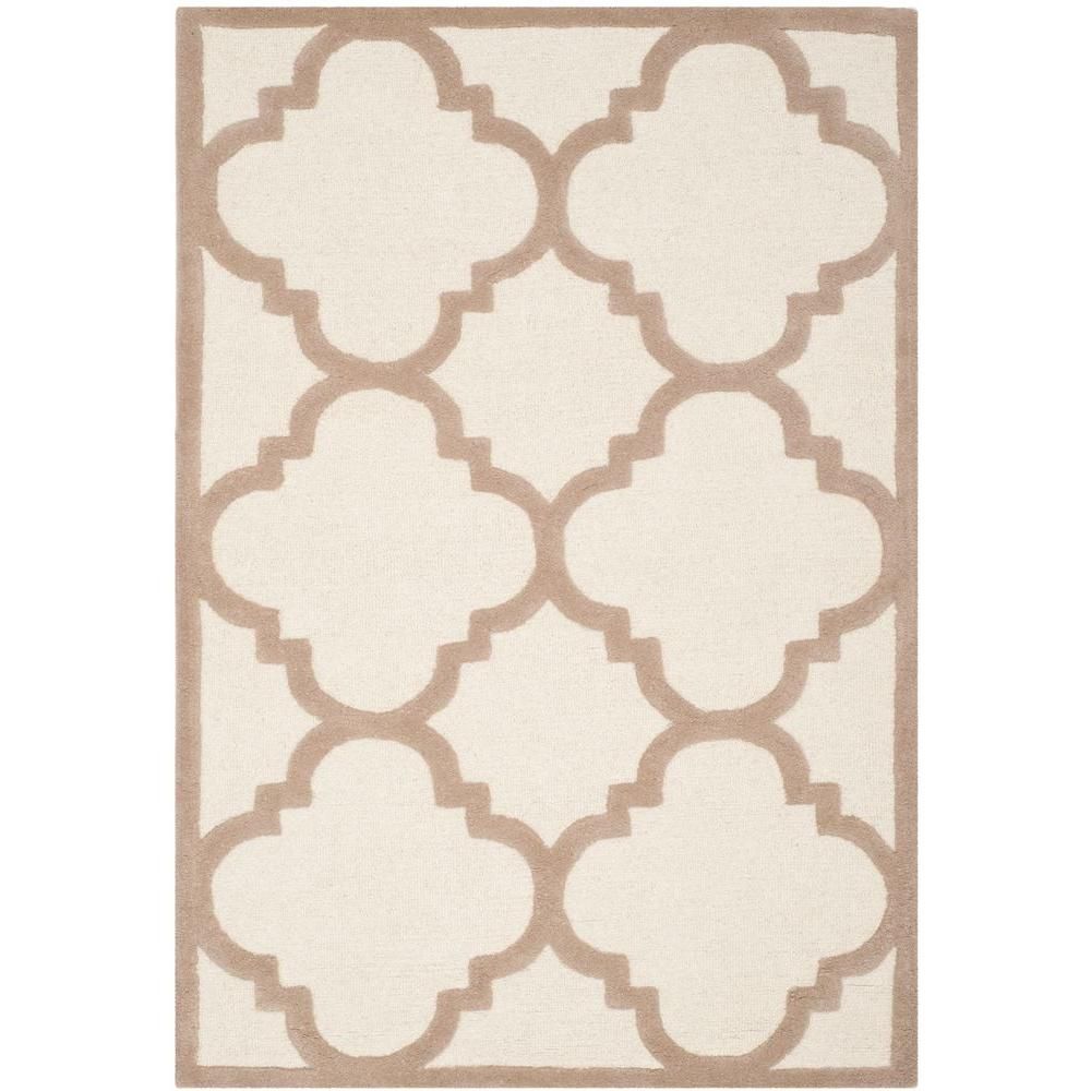 Cambridge Ivory/Beige 4 ft. x 6 ft. Area Rug
