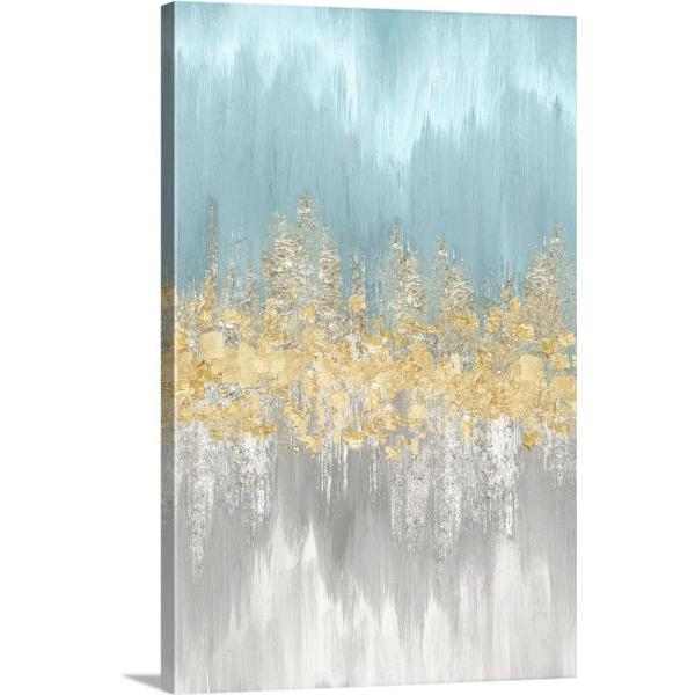 Greatbigcanvas Neutral Wave Lengths Iii By Eva Watts Canvas Wall Art 2545572 24 16x24 The Home Depot