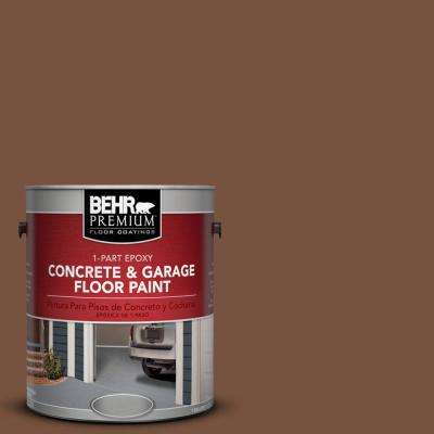 1 gal. #S200-7 Earth Fired Red 1-Part Epoxy Concrete and Garage Floor Paint